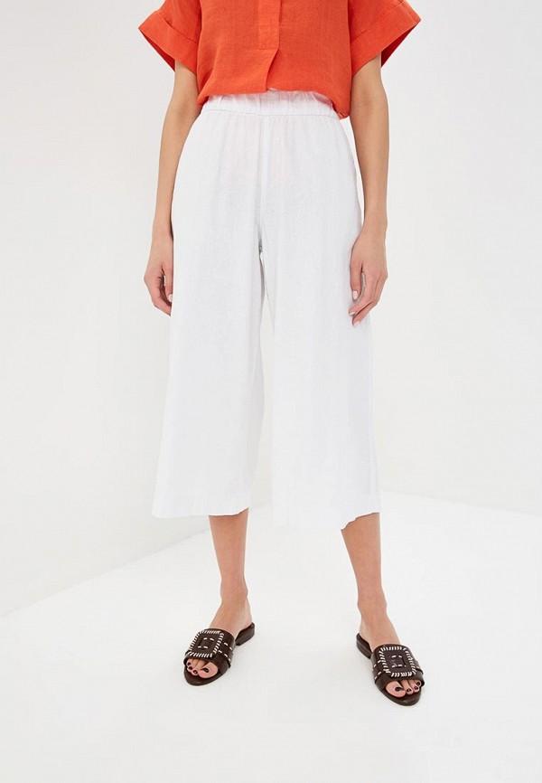 женские брюки клеш marks & spencer, белые