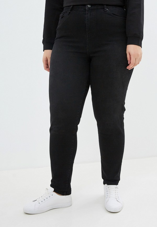женские джинсы-мом marks & spencer, черные