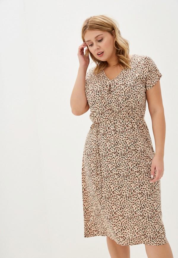 женское платье marks & spencer, бежевое