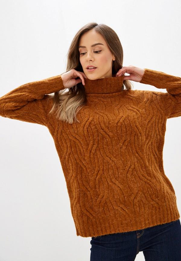 женский свитер marks & spencer, коричневый