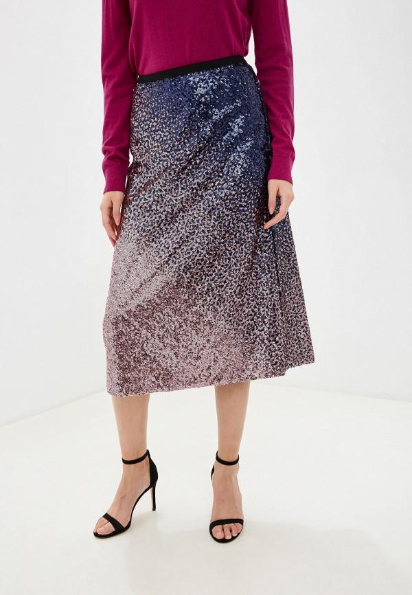 женская юбка marks & spencer, розовая
