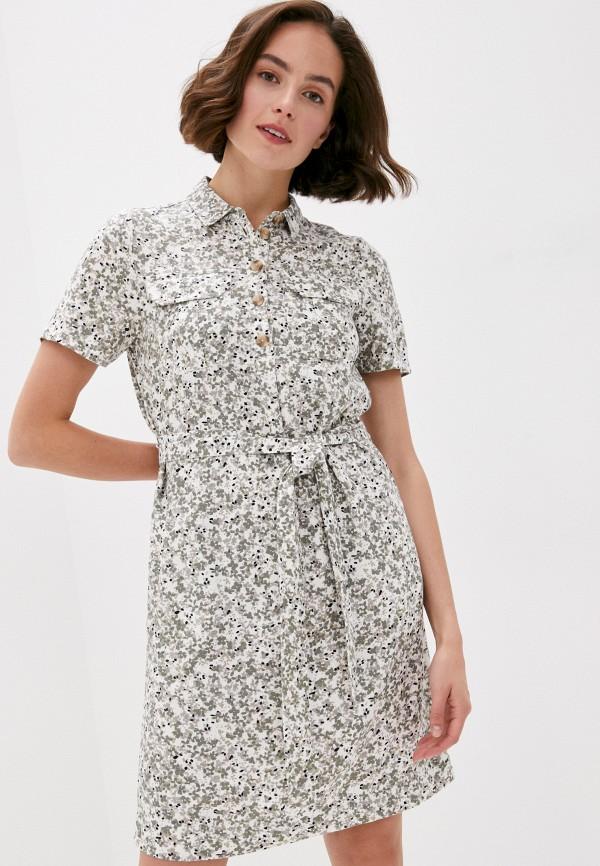 женское платье marks & spencer, хаки