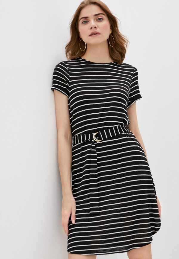 женское платье marks & spencer, черное