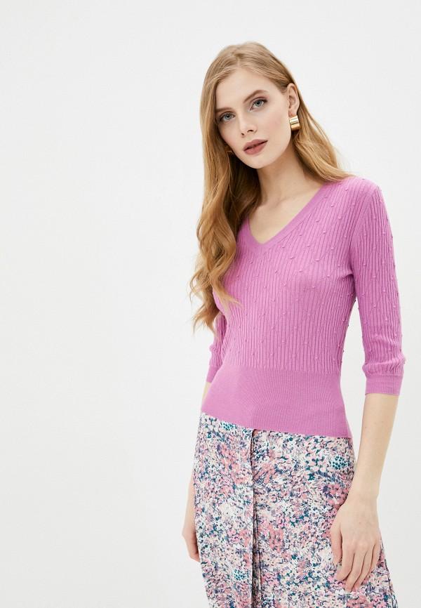 женский пуловер marks & spencer, розовый