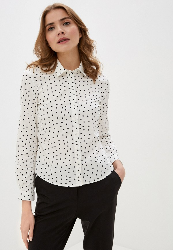 женская рубашка marks & spencer, белая