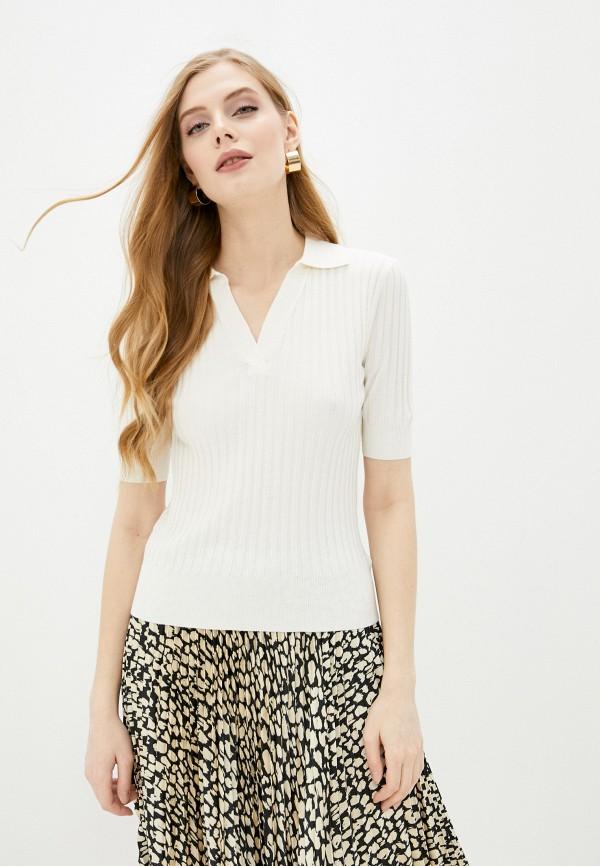женский пуловер marks & spencer, белый