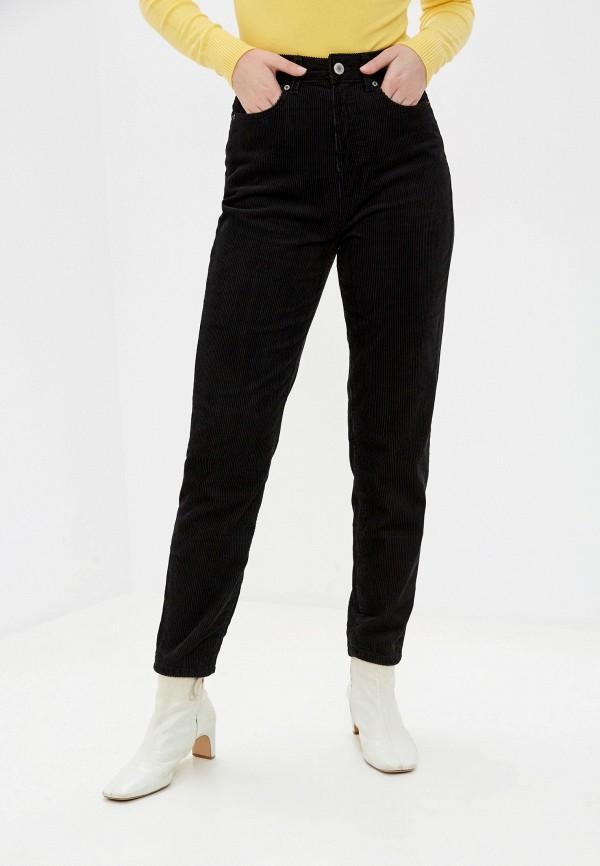 женские прямые брюки marks & spencer, черные