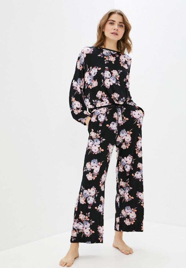 женская пижама marks & spencer, черная