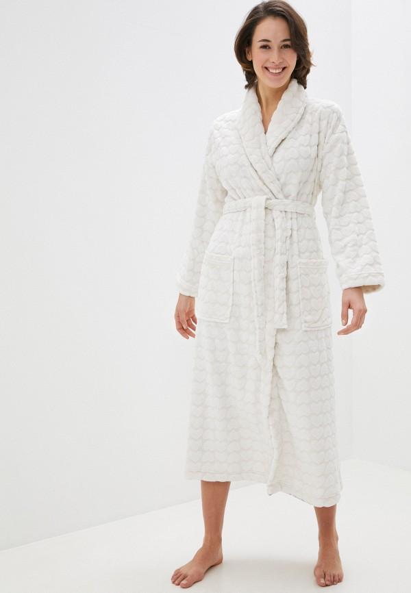 женский халат marks & spencer, белый