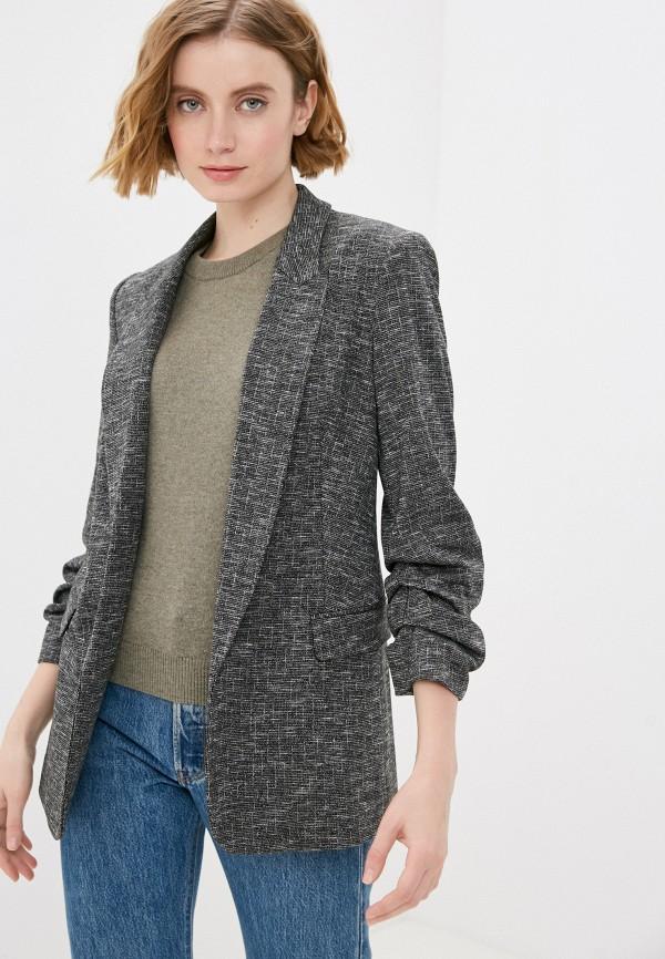 женский пиджак marks & spencer, серый
