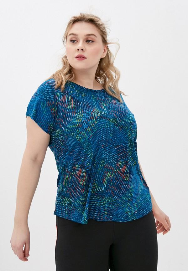 женская спортивные футболка marks & spencer, синяя