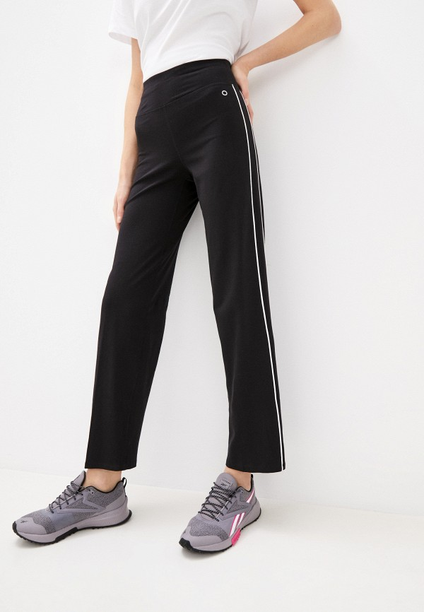женские спортивные брюки marks & spencer, черные