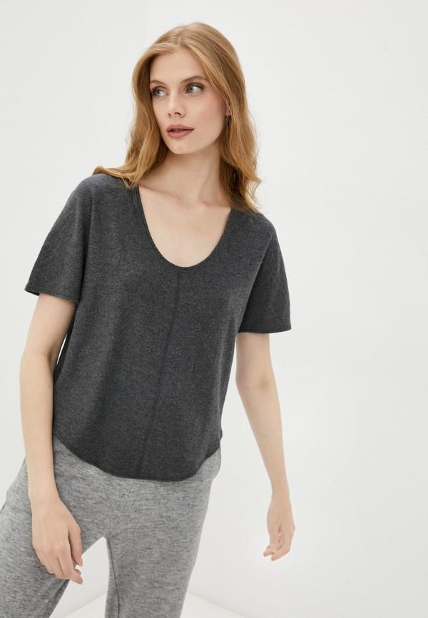 женская футболка marks & spencer, серая
