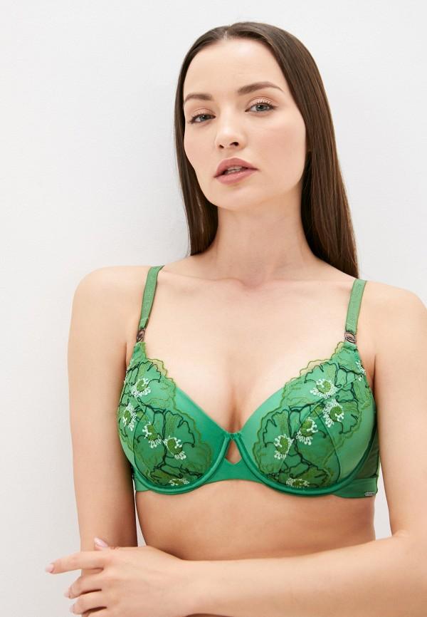 женский бюстгальтер marks & spencer, зеленый