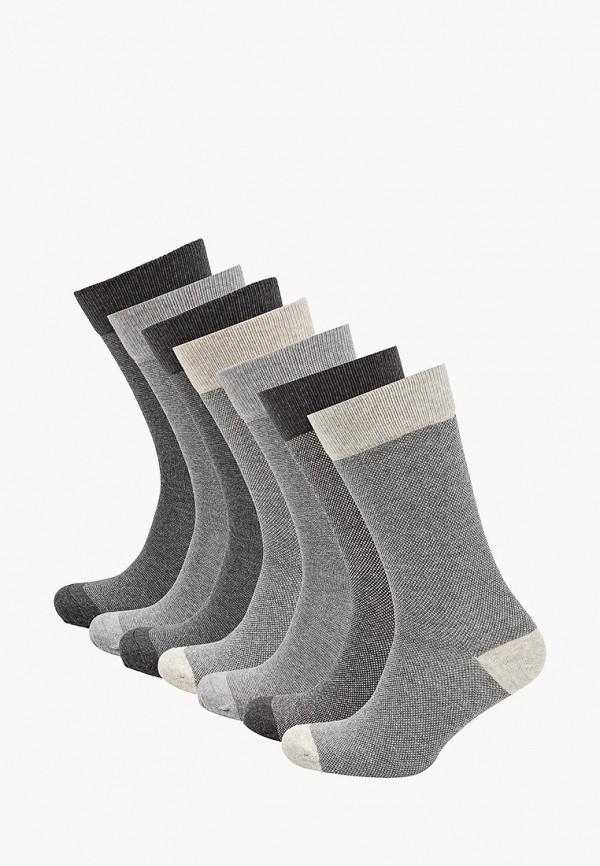 мужские носки marks & spencer, серые