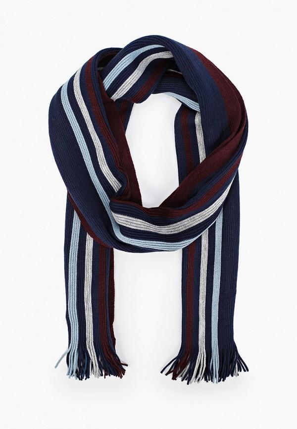 мужской шарф marks & spencer, синий