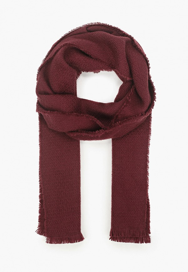 мужской шарф marks & spencer, бордовый