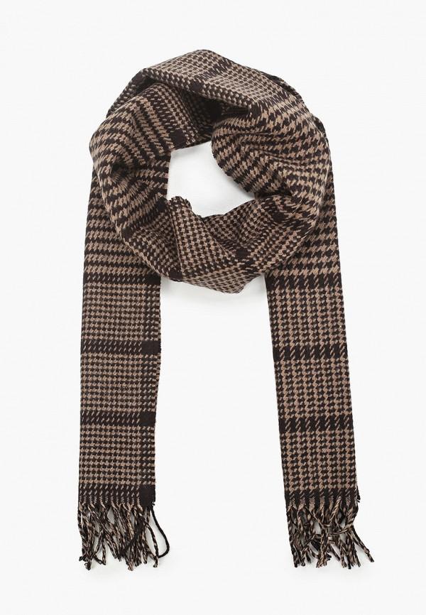 мужской шарф marks & spencer, коричневый