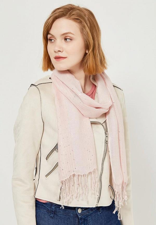 Фото 3 - Палантин Marks & Spencer розового цвета