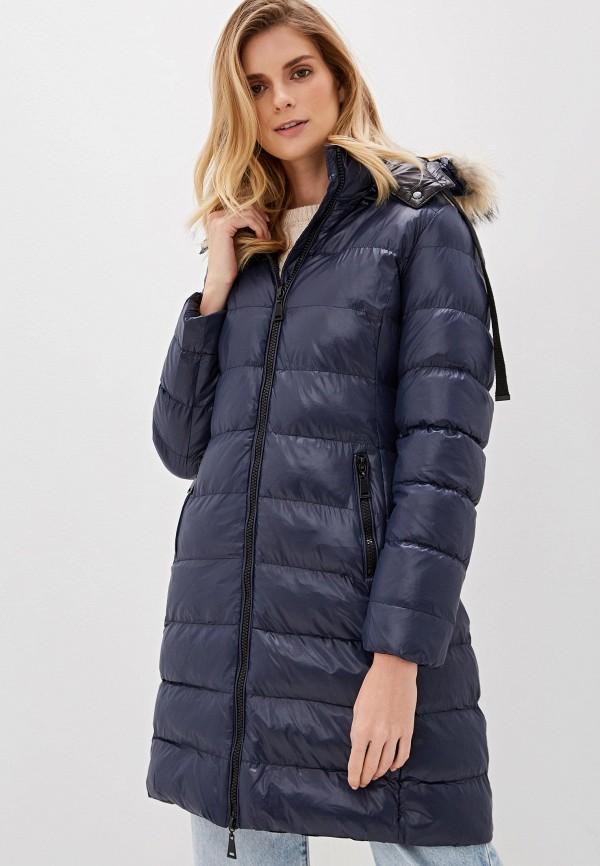 женская куртка macleria, синяя