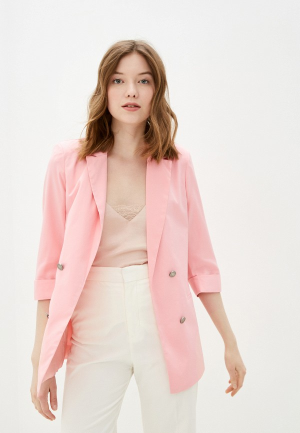 женский жакет macleria, розовый