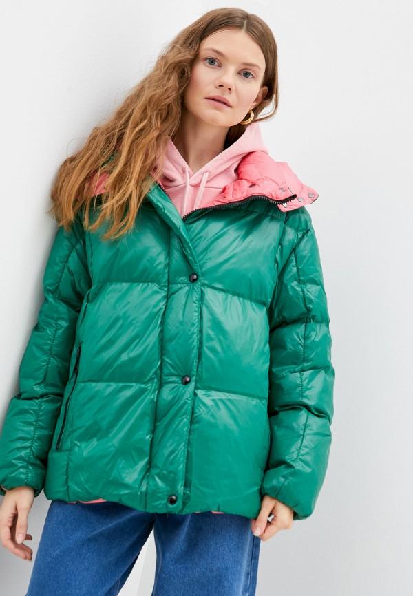 женская куртка macleria, зеленая