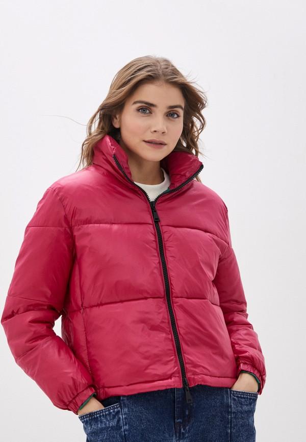 женская куртка macleria, розовая