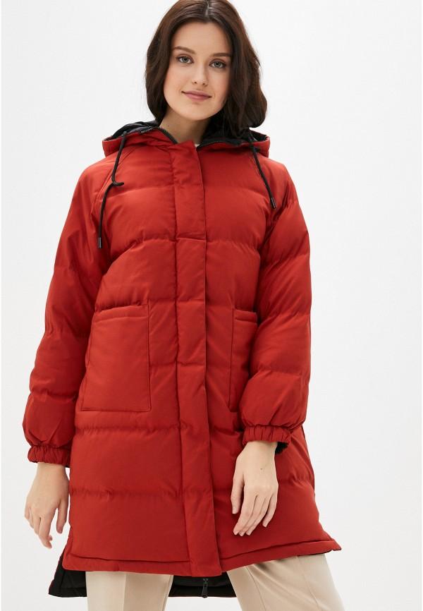 женская куртка macleria, красная