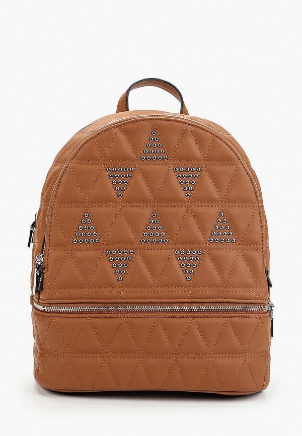женский рюкзак max & enjoy, коричневый