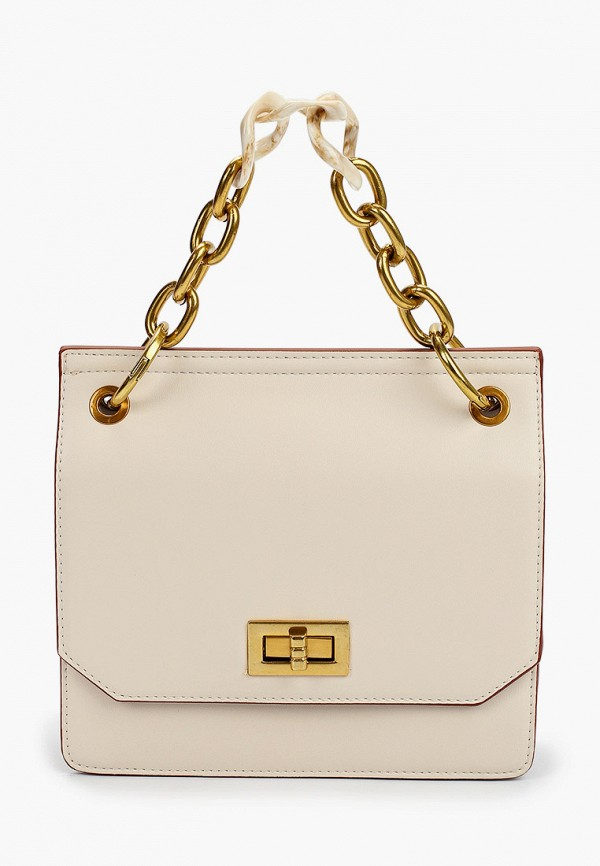 женская сумка max & enjoy, бежевая