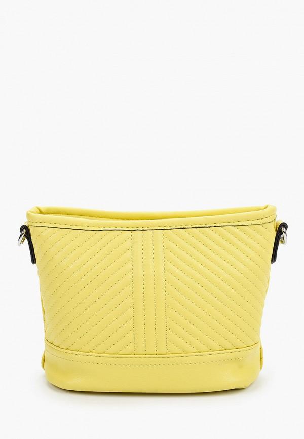 женская сумка max & enjoy, желтая