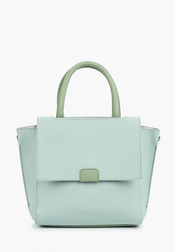 женская сумка max & enjoy, бирюзовая