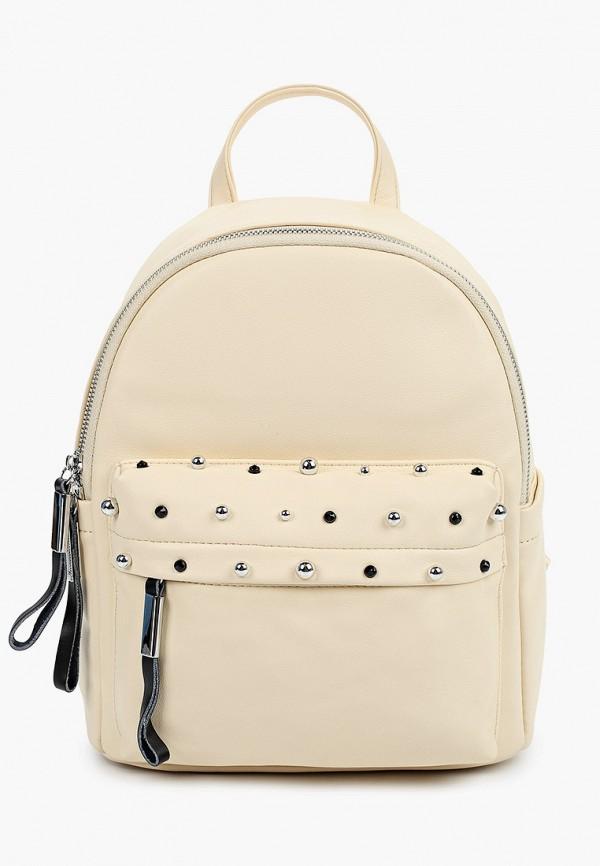 женский рюкзак max & enjoy, бежевый