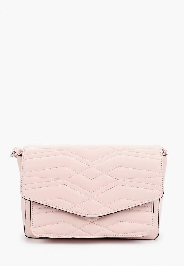 женская сумка max & enjoy, розовая