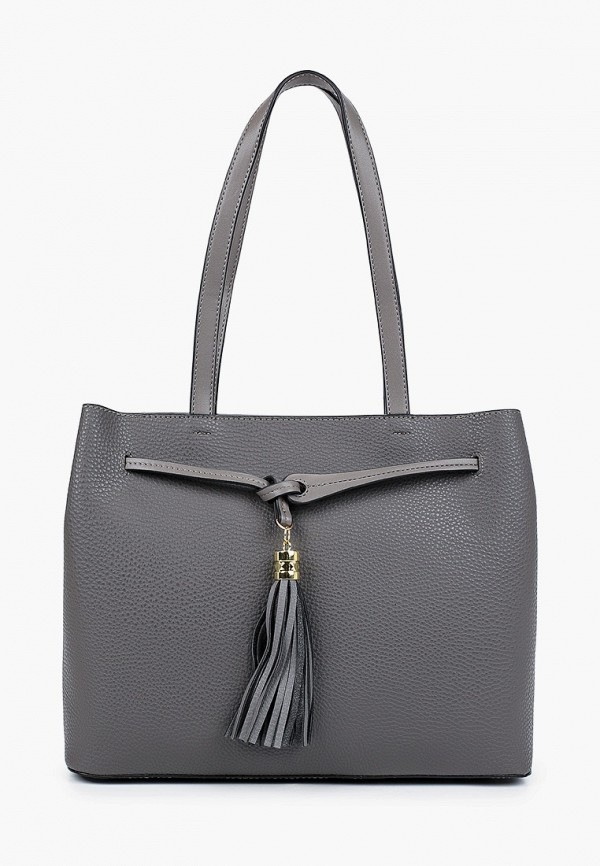женская сумка max & enjoy, серая