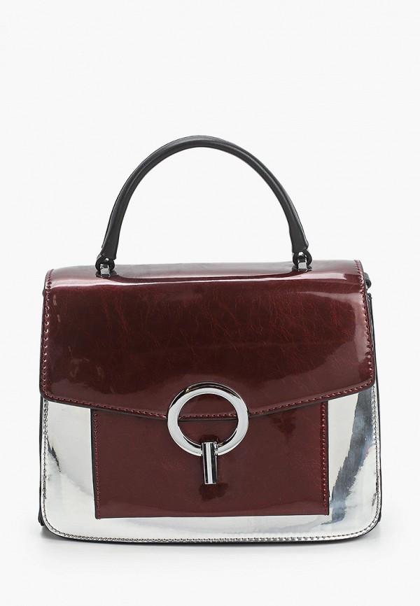 женская сумка max & enjoy, бордовая