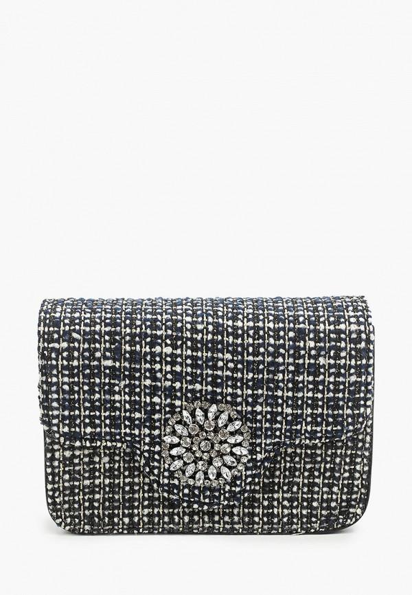 женская сумка max & enjoy, серебряная