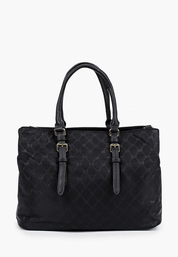 женская сумка max & enjoy, черная