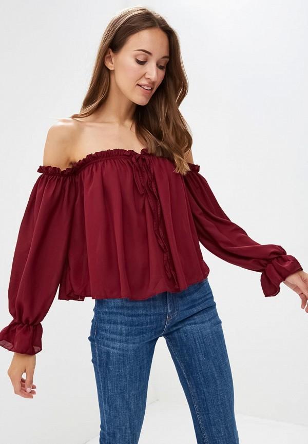 Фото - Блузу Madison Harmonie бордового цвета