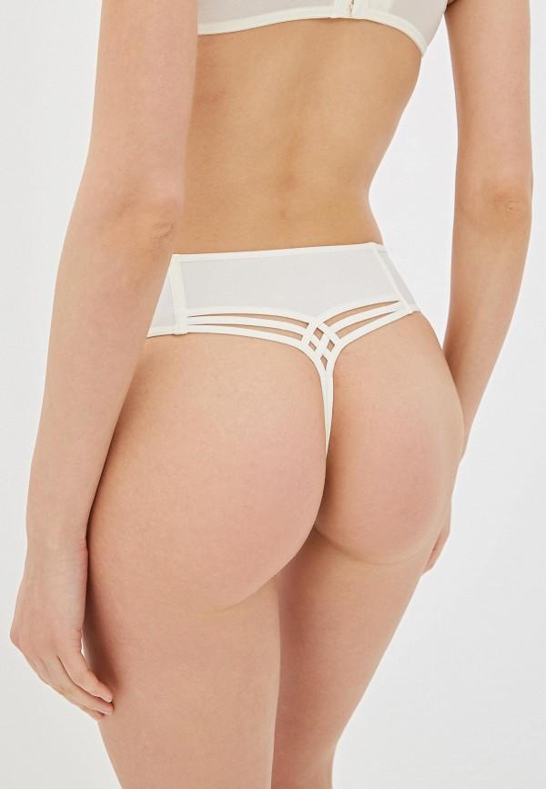 Фото 3 - Женские трусы Marlies Dekkers белого цвета