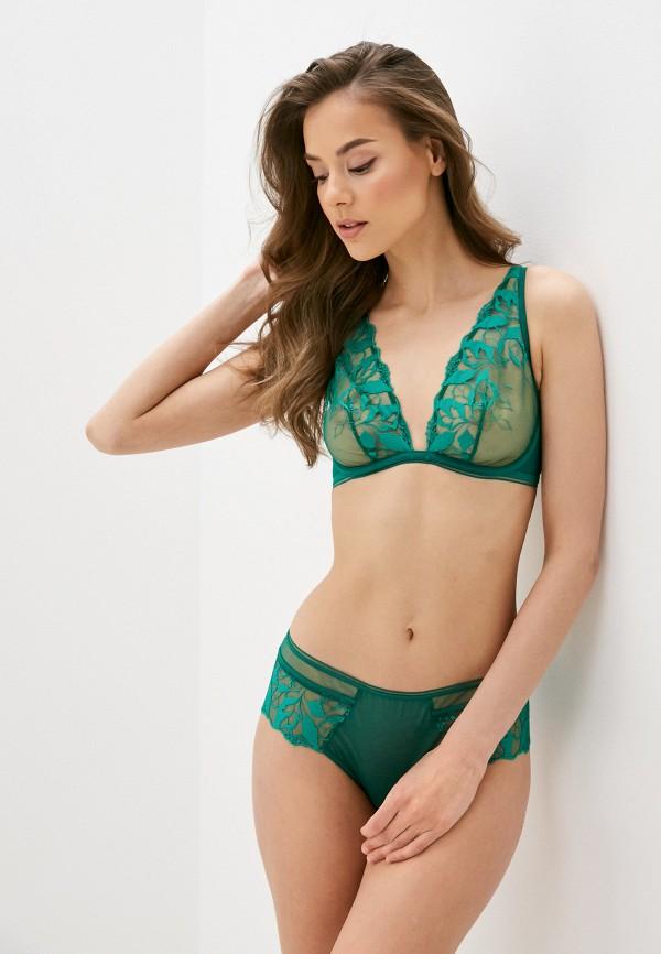 женский бюстгальтер maison lejaby, зеленый