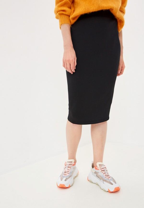 женская узкие юбка max mara leisure, черная