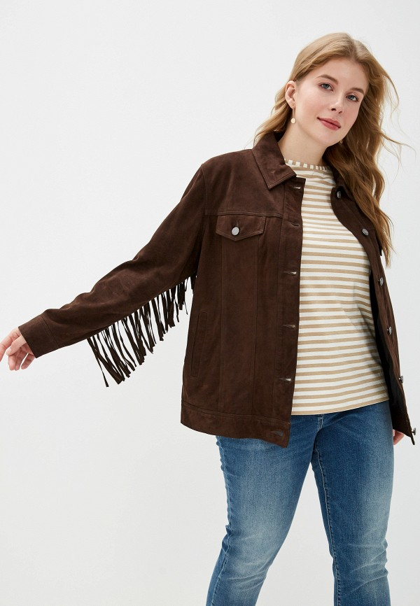 купить Куртка кожаная Marina Sport x Marina Rinaldi Marina Sport x Marina Rinaldi MA197EWFMTY1 дешево