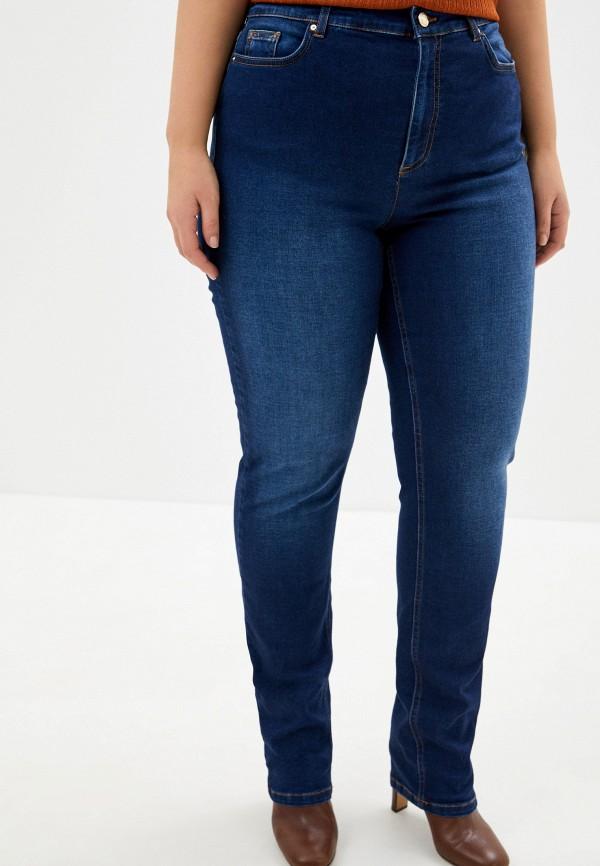 женские джинсы скинни marina sport x marina rinaldi, синие