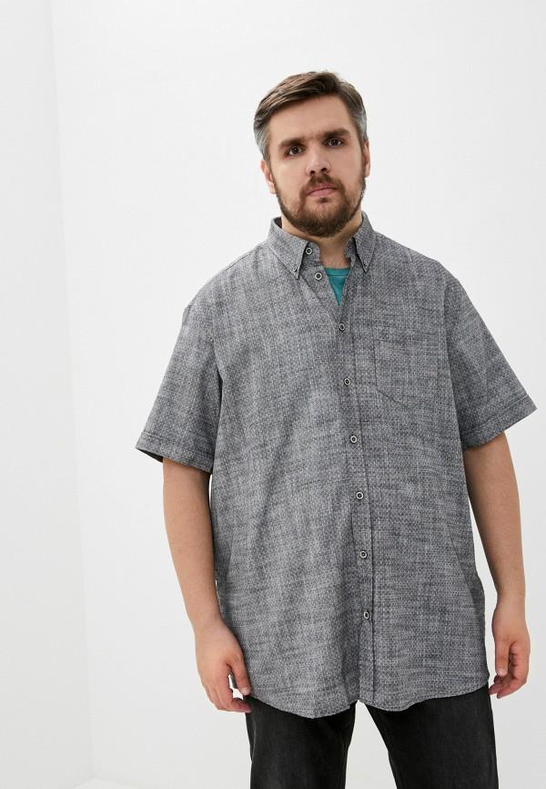 мужская рубашка maxfort, серая