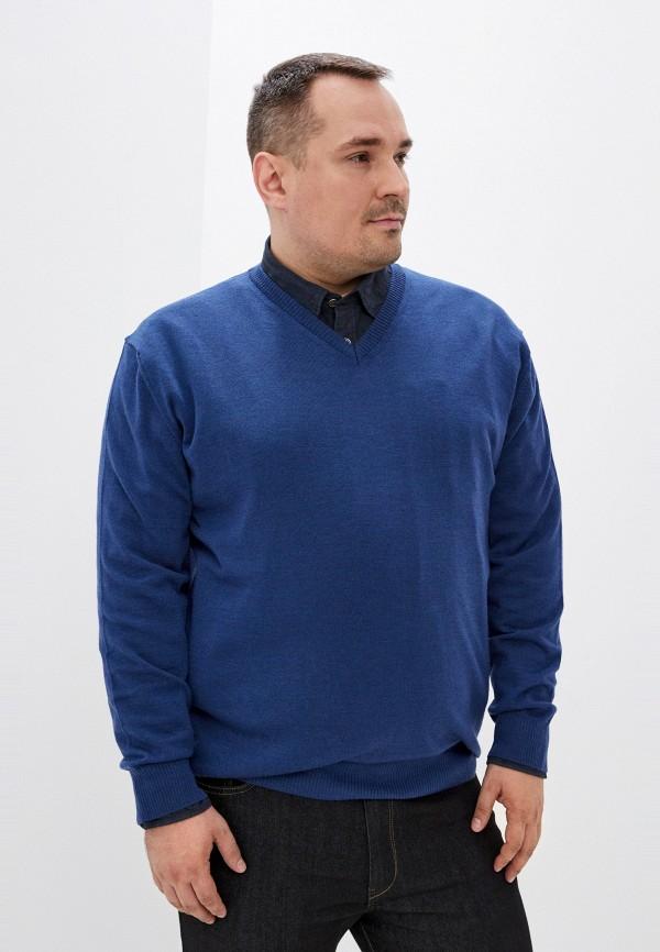 мужской пуловер maxfort, синий