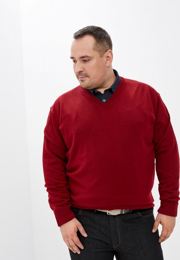 мужской пуловер maxfort, бордовый