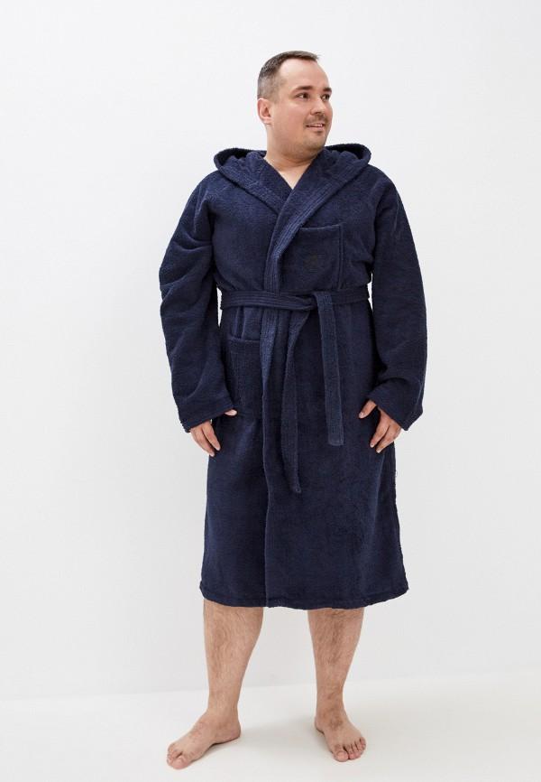 мужской халат maxfort, синий