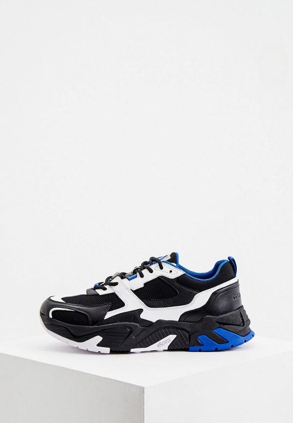 мужские низкие кроссовки marcelo burlon county of milan, черные