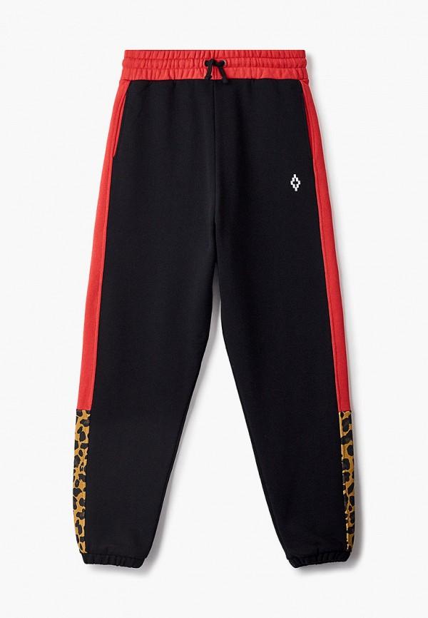 спортивные брюки marcelo burlon kids of milan для мальчика, черные